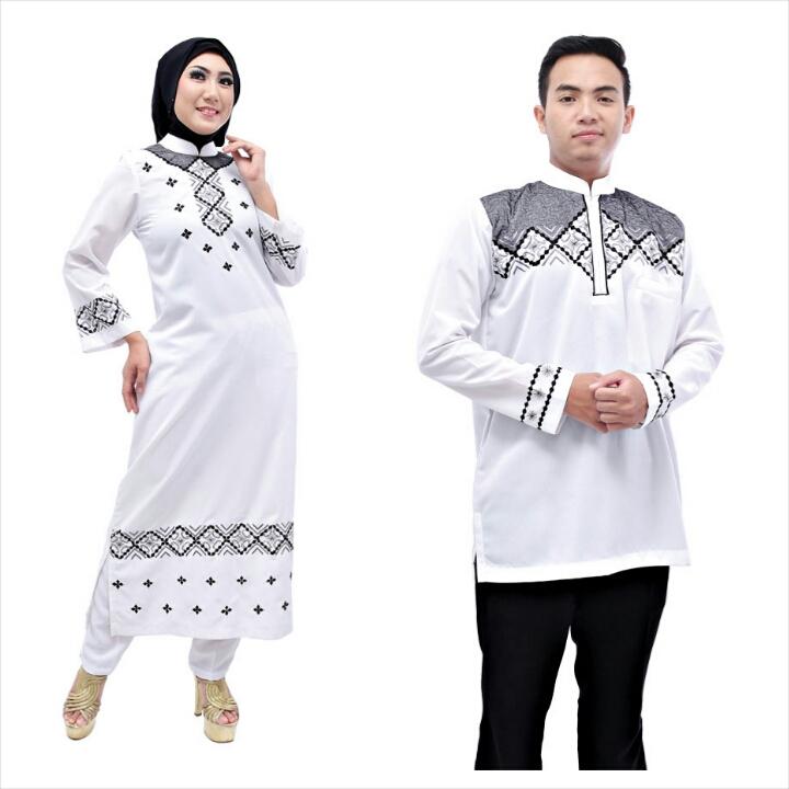 Baju muslim terbaru 2014 june 2015 Baju couple gamis dan koko