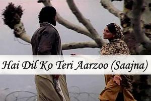 Hai Dil Ko Teri Aarzoo (Saajna)