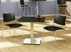 Stainless Steel Bistro Table
