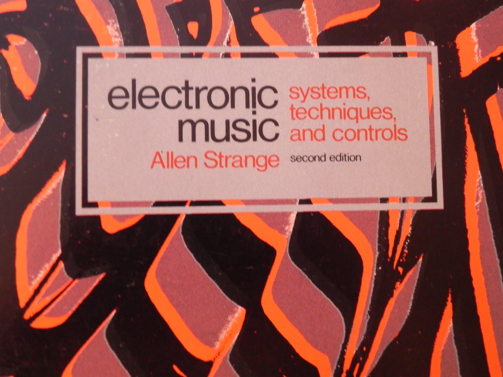 Electronic Music Techniques