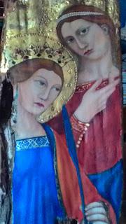 fondo oro frammeto del medioevo