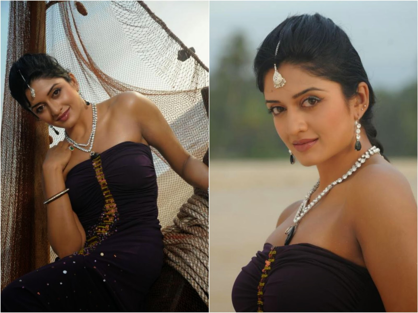 Actress Vimala Raman Unseen Cute Hot Beautiful Spicy Photoshoot Gallery