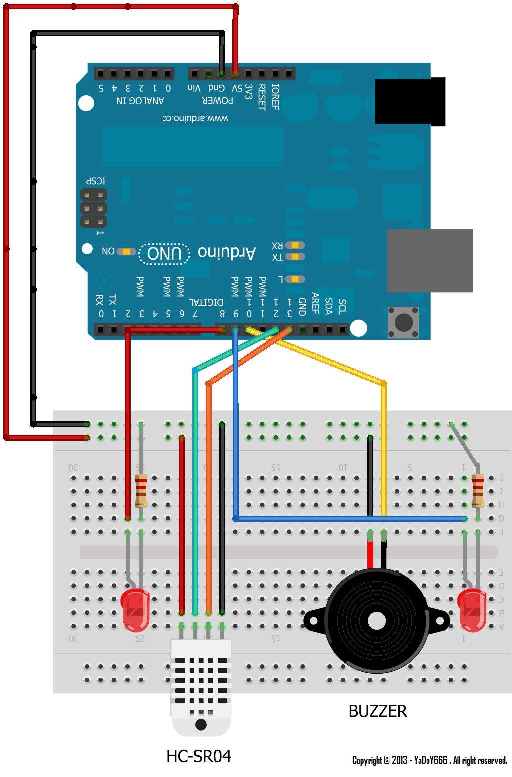 Arduino - Ultrasonic Sensor HC-SR04 - hupinterestcom