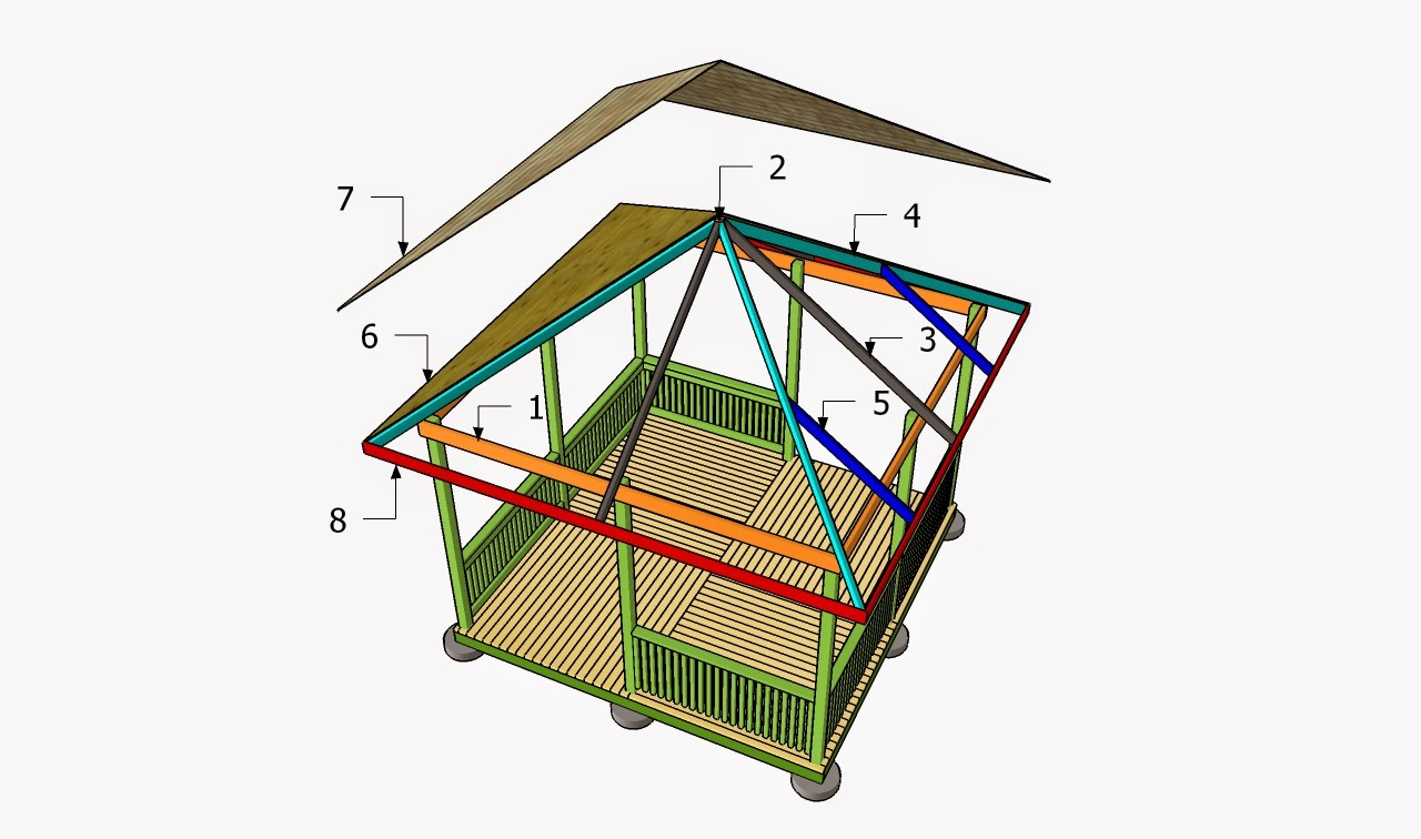 Free gazebo plans how to build a gazebo for Free cupola plans