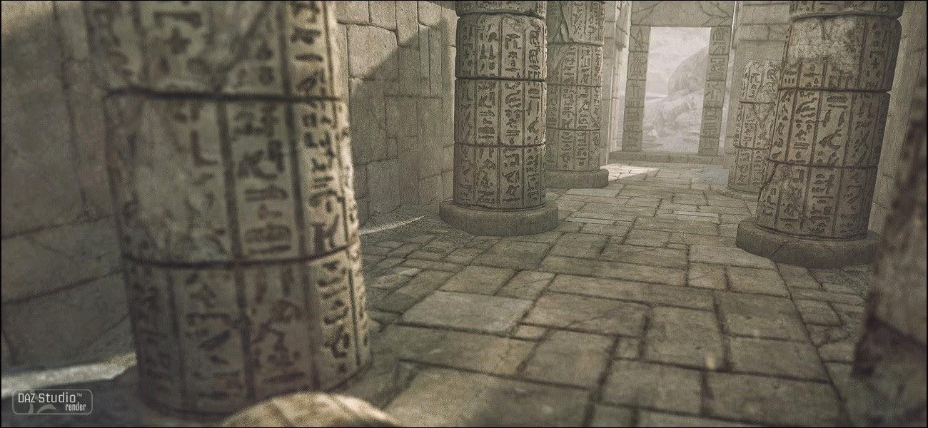 Ruines de l'Egypte 01