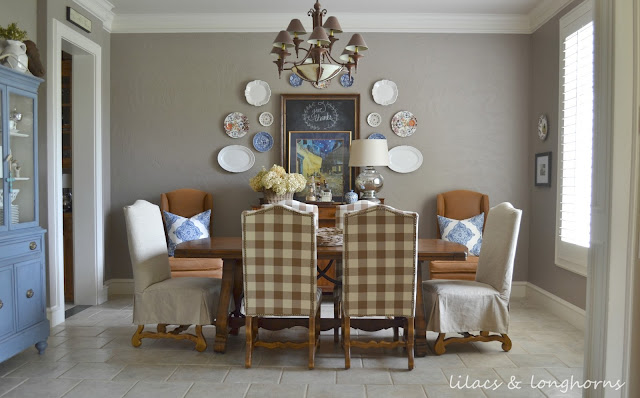 My dining room the big reveal lilacs and for My dining room 9 course