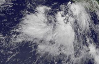 Pot. Tropischer Sturm JOHN bedroht Mexiko vorerst nicht, John, aktuell, Vorhersage Forecast Prognose, Nordost-Pazifik, Pazifische Hurrikansaison, 2012, Hurrikansaison 2012, Mexiko,