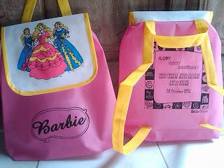 souvenir tas acara ulang tahun anak perempuan