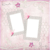 Hugs and Kisses Scrapbooking Quickpage