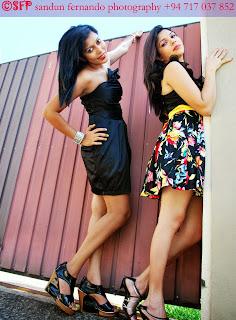 Shashi & Thilini short dress