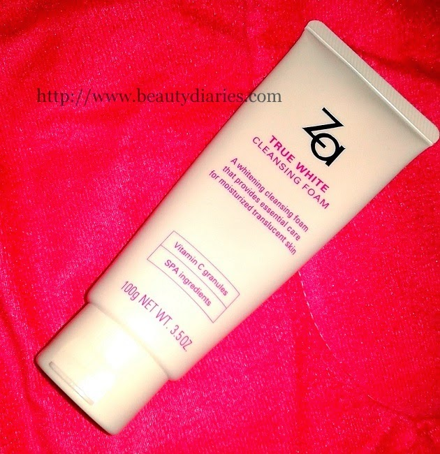 Za true white cleansing foam - Review