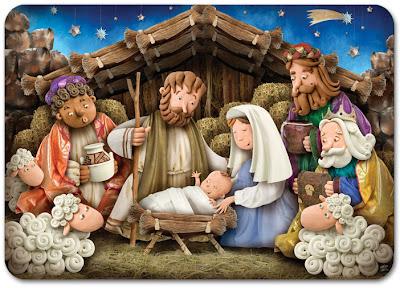 Mundo fili pesebre bel n y feliz navidad en plastilina for Nacimiento belen