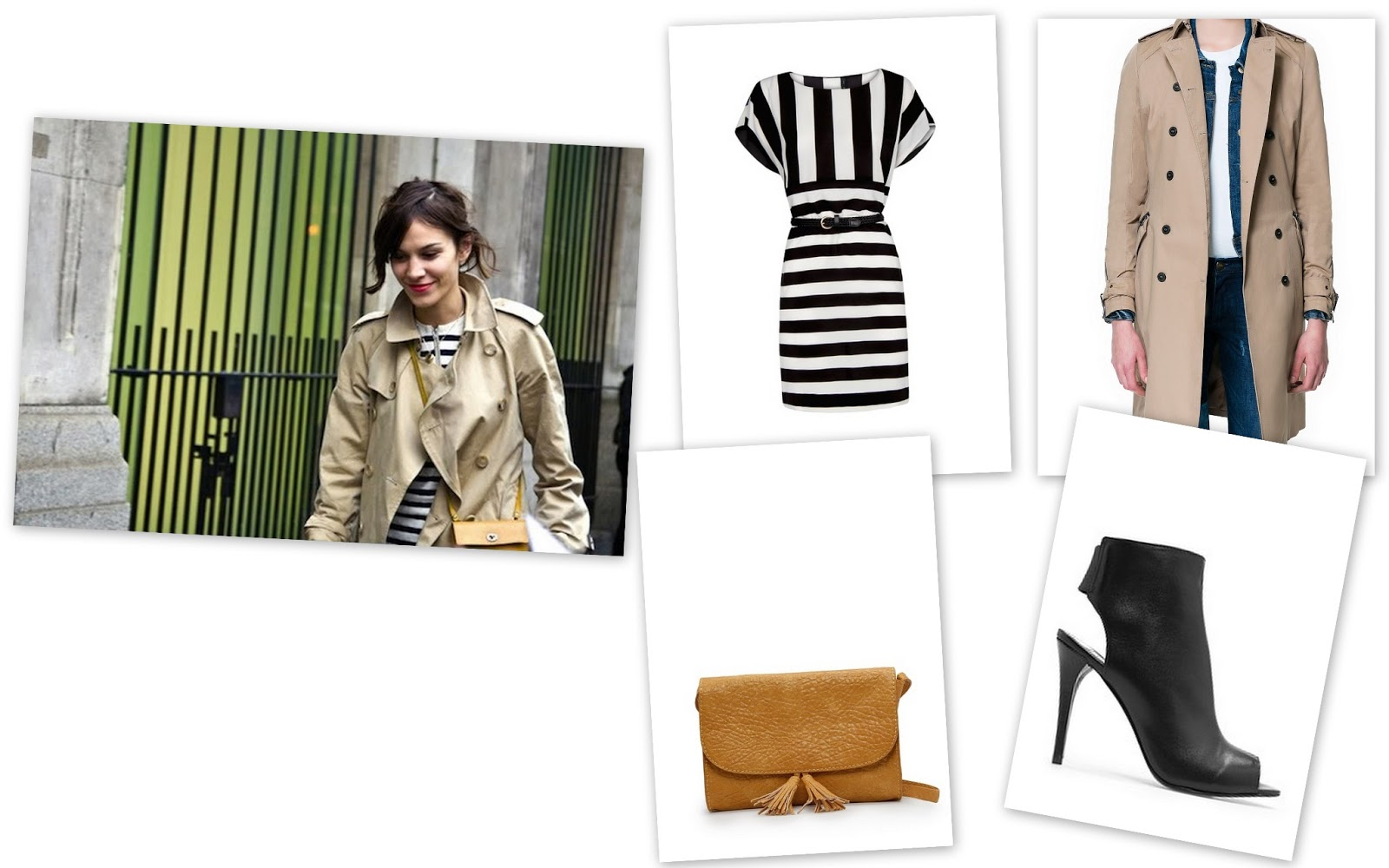trench and stripes