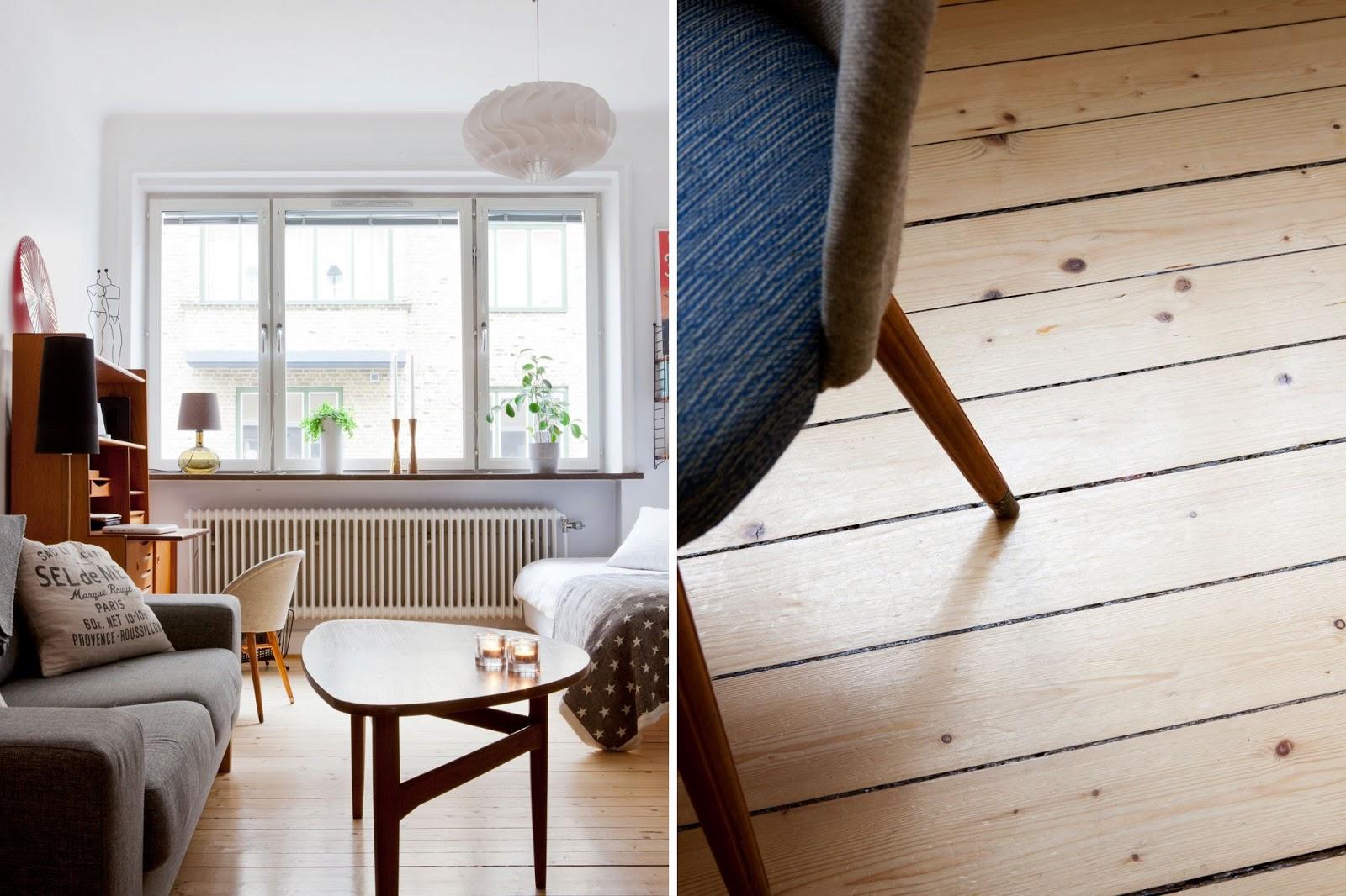 La petite fabrique de r ves un studio fonctionnel aux - Petit appartement aux details vintages ...