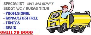 Jasa Sedot Wc Murah Jakarta Pusat Profesional Telp 08111 79 9009