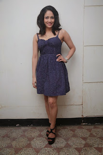 Komal Sharma in super cute Short dress at Kangaroo Movie Audio Launch