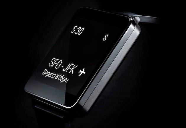 LG G WATCH POWERED BY ANDROID