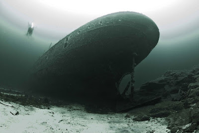 The wreck of SS Borghild