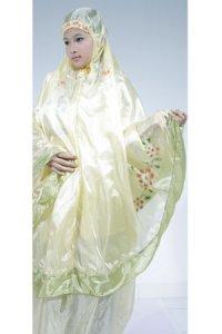 Mukena Abutai - Kuning Muda (Toko Jilbab dan Busana Muslimah Terbaru)