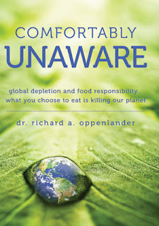 comfortably unaware, richard oppenlander, vegan, biodiversity
