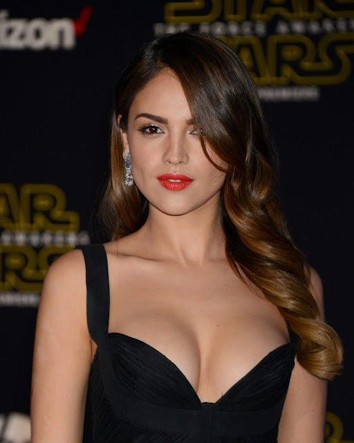 "Actress, Singer, @ Eiza Gonzalez - premiere of ""Star Wars: The Force Awakens"" in Hollywood"