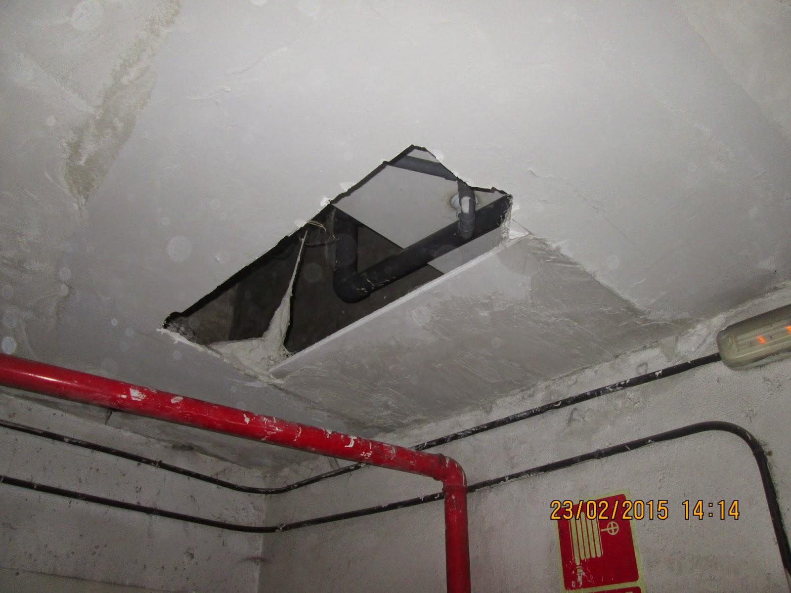 Reformas sin fronteras asesoramiento gratuito para las - Tapar agujero techo ...