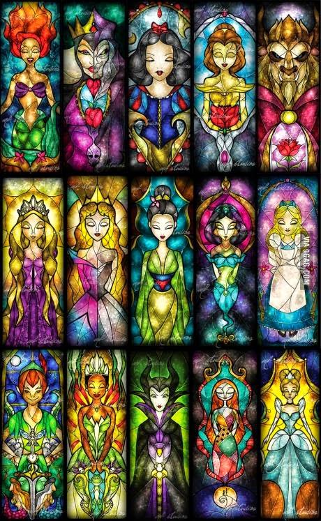 Colorful full Holy Disney