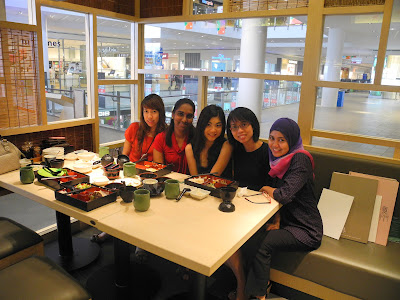 Birthday celebration Sushi Tei Setia City Mall