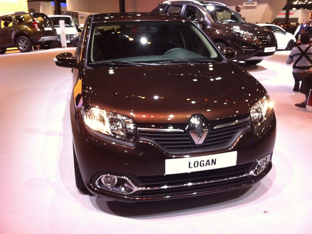 a car Renault Logan 2014