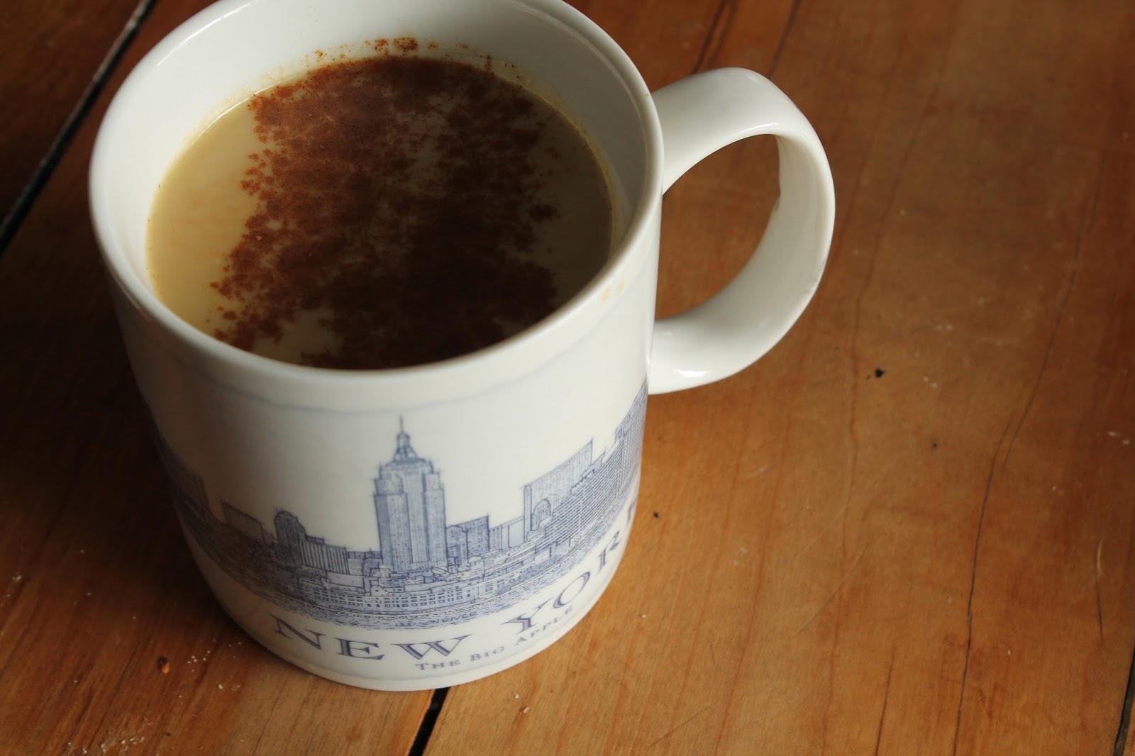 real pumpkin latte