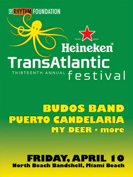 Heineken Transatlantic Festival flyer