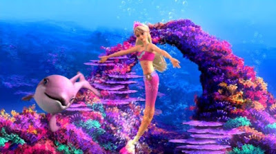 Wallpaper Barbie Merliah in A Mermaid Tale