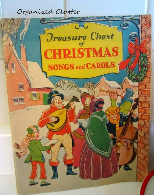 Treasure of Christmas Songs 1938 www.organizedclutterqueen.blogspot.com