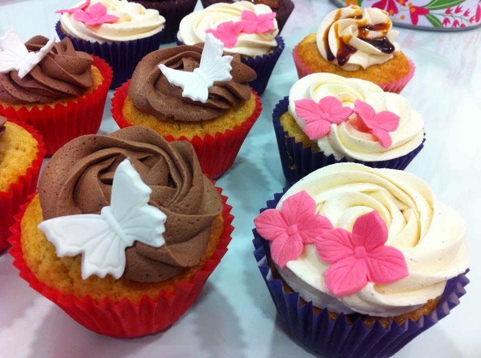 Cupcakes San Valentin, parte 3