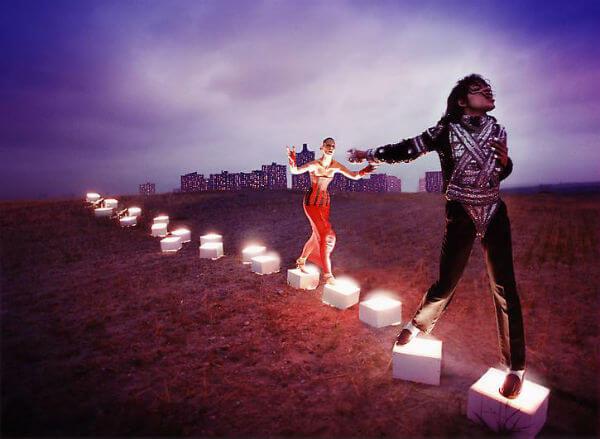 michael jackson david lachapelle an illuminating path