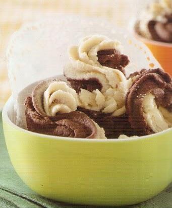Resep Kue Sagu Kacang Cokelat