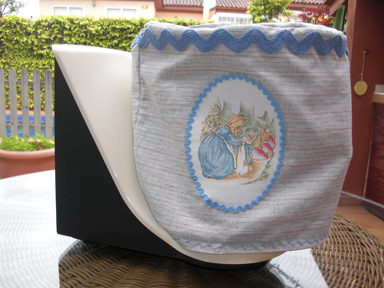 Patchwork y t funda thermomix for Funda thermomix ikea
