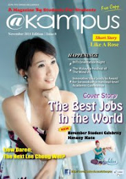 @Kampus Magazine Cover Girl