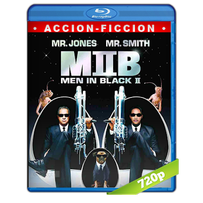 Hombres De Negro 2 (2002) BRRip 720p Audio Trial Latino-Castellano-Ingles 5.1