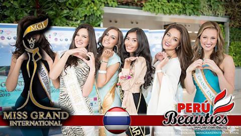 Y las favoritas son..... - Miss Grand International 2015