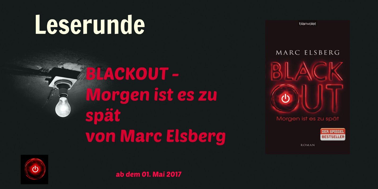 """Leserunde zu """"Blackout - Morgen ist es zu spät"""""""