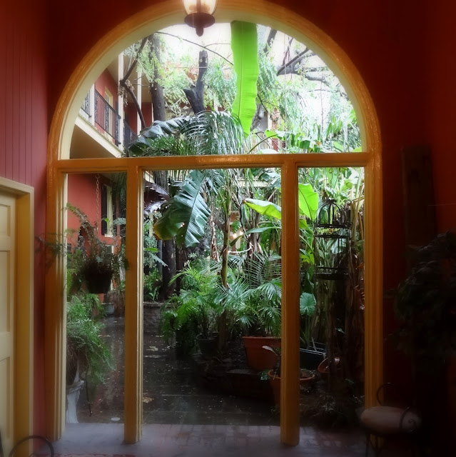 New Orleans Courtyard View