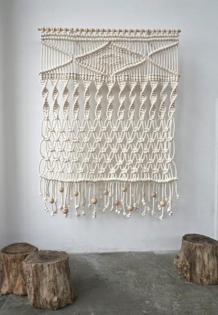 Dudu nuevo taller de tapiz de macram - Tapices de macrame ...
