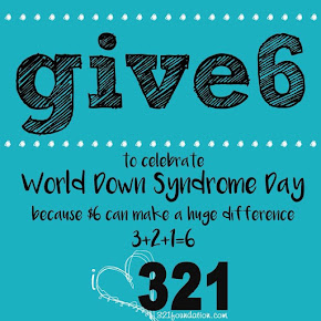 Give 6 for Down syndrome!
