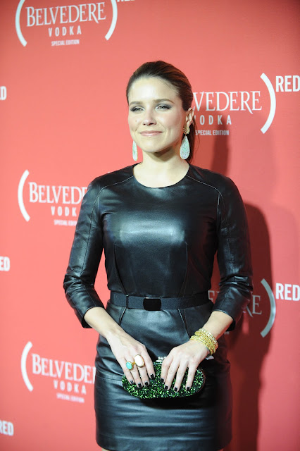 Lovely Ladies In Leather Sophia Bush In Tight Leather Pants