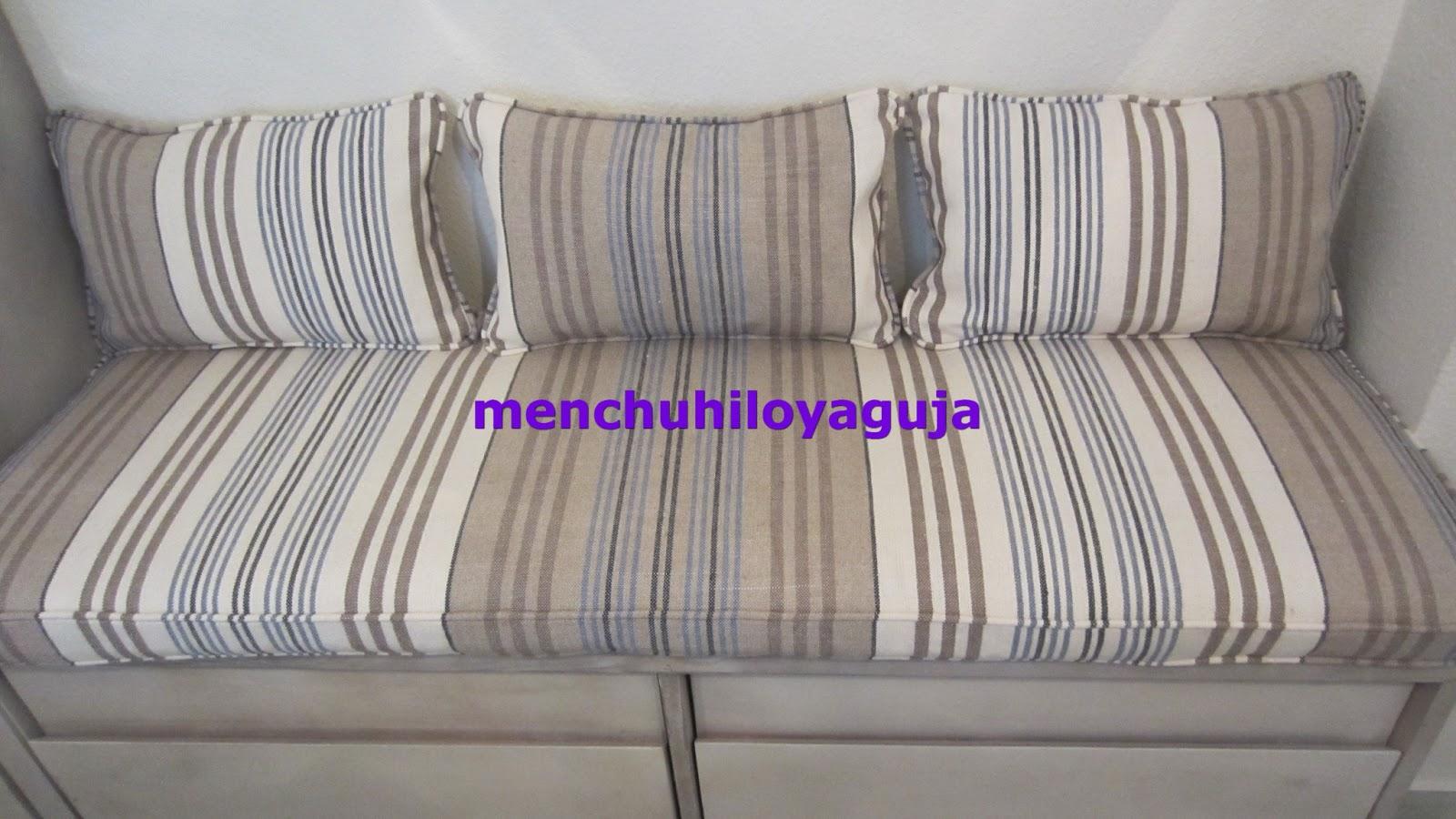 Patrones de costura cojines con fuelle - Hacer cojines para sofa ...