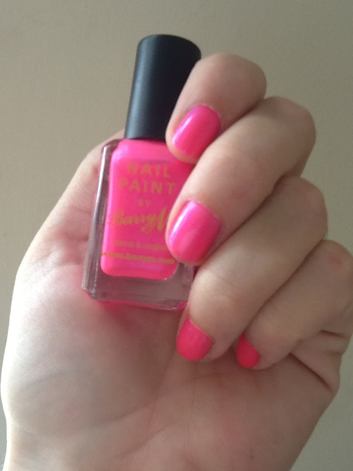 A New Favourite: BarryM Neon Pink Nail Paint | Pink Julep
