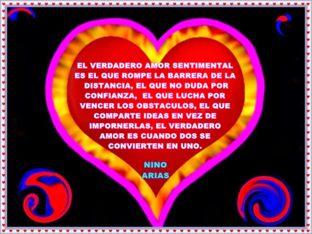 El amor verdadero es el que rompe la barrera de la distancia