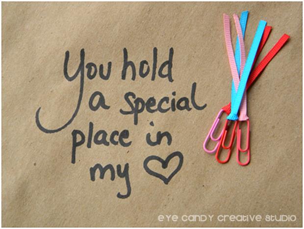 valentines note, valentines bookmark, classroom valentines day favor