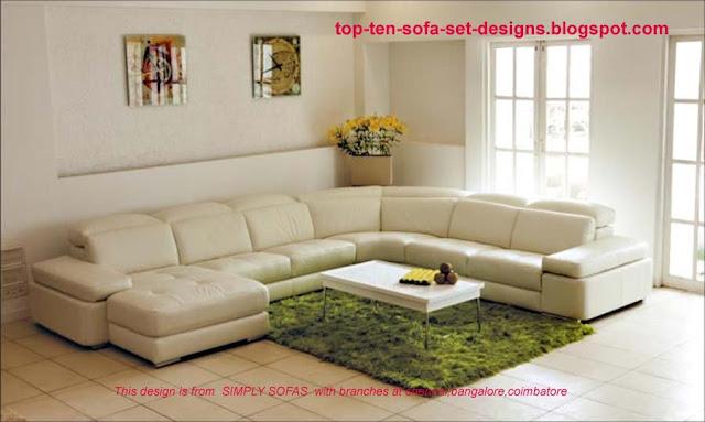 Top 10 Sofa Set Designs Top Ten Sofa Set Designs From India